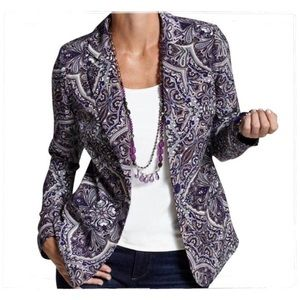 🆕 Listing!  Chico's | Victorian Paisley Jacket